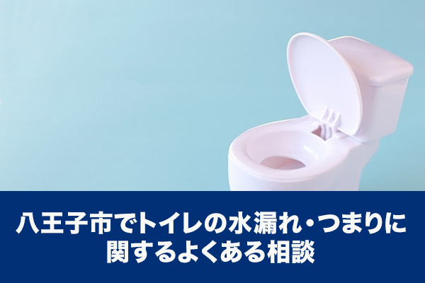 八王子市でトイレの水漏れ・つまりに関するよくある相談