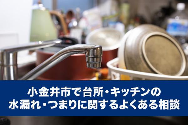 小金井市でトイレの水漏れ・つまりに関するよくある相談